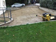 Chantier de Drize Parking